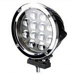 60W konzentrierte Geländefahrzeuge Scheinwerfer / runde LED Arbeitsleuchten / SUV modifizierte Auto Taschenlampe ( Farbe : Floodlight )